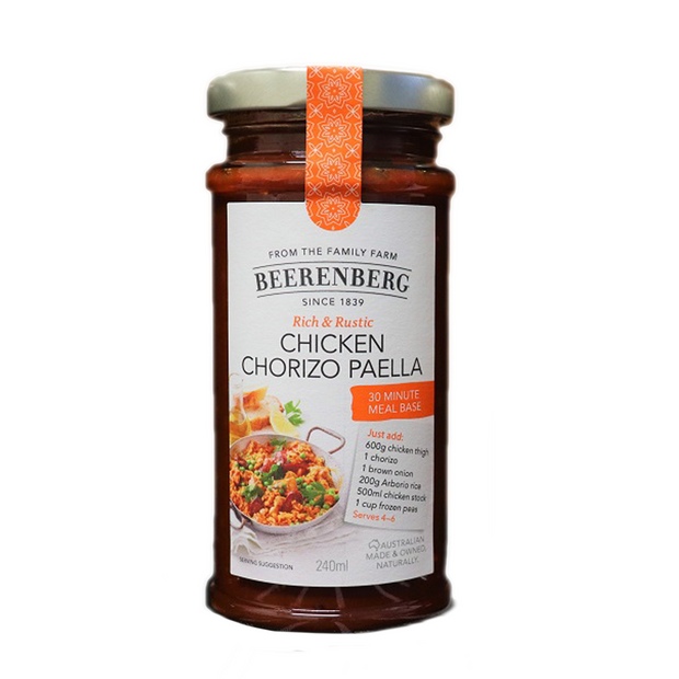 Beerenberg Chicken Chorizo Paella 240ml