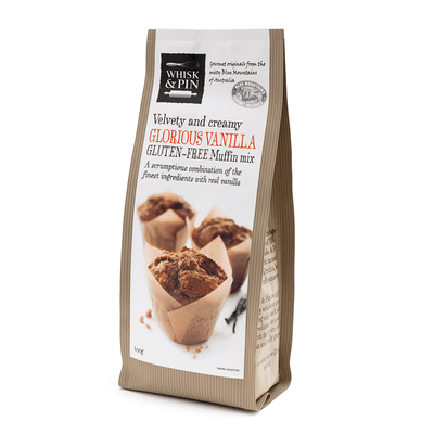 Glorious Vanilla Gluten Free Muffin Mix (GF) 450g