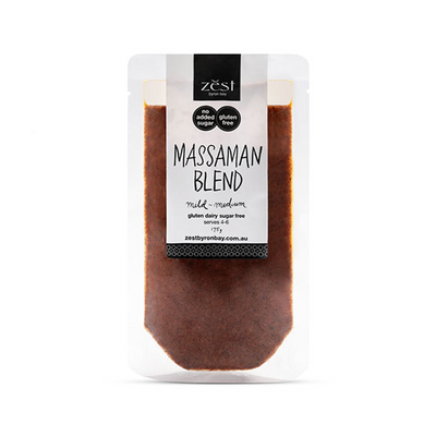 Zest Massaman Curry Sauce 175g (GF, V, DF)