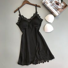 Load image into Gallery viewer, Sexy Women's Robe & Gown Sets Lace Bathrobe + Night Dress 4 Four Pieces Sleepwear