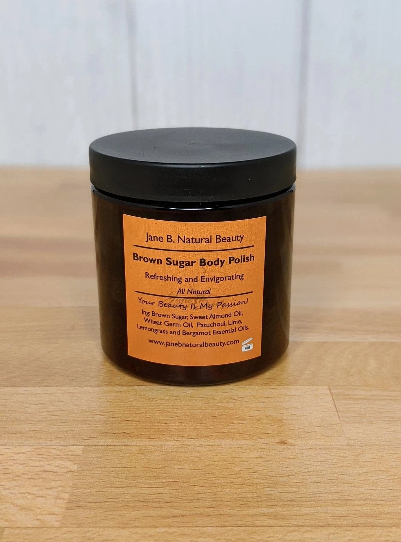 Brown Sugar Body Polish 8oz.
