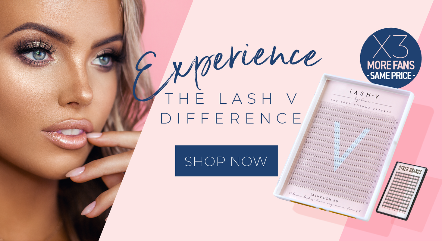 Lash V wholesale lashes wholesale lash extensions premade volume fans lash supplies lash suppliers lash store lash extension supplies afterpay eyelash supplies eyelash extension supplies eyelash extension products bulk lashes Australia buy eyelash