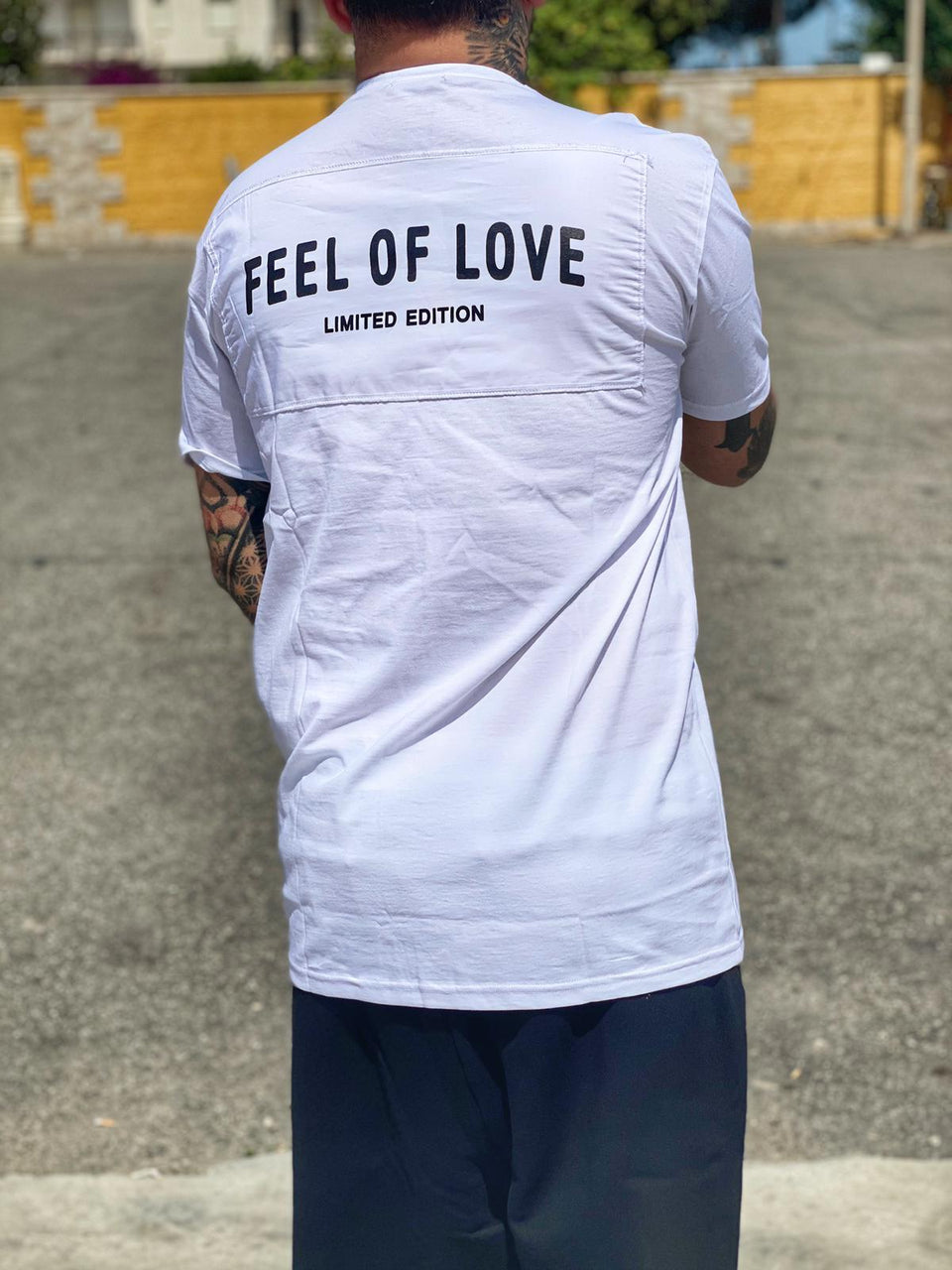 T-Shirt Feel Of Love White