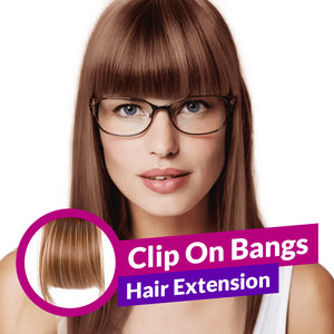 Clip-On Bangs Hair Extensions