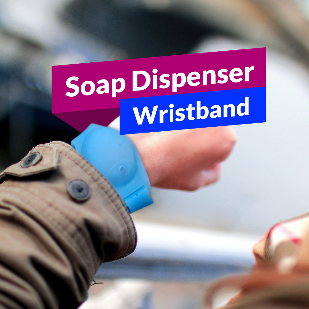 Soap Dispenser Wristband
