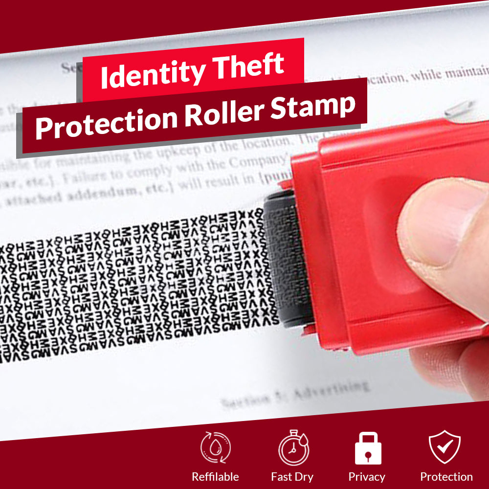 Identity Theft Protection Roller Stamp - EveHousehold