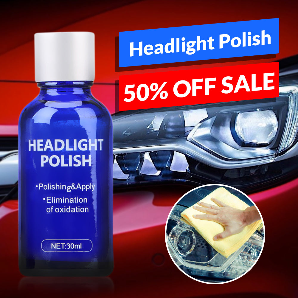 Headlight Polish - 50% OFF SALE