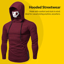 Load image into Gallery viewer, Cyberpunk Ninja Hoodie - 50% OFF Halloween Sale