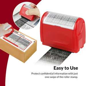Identity Theft Protection Roller Stamp