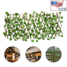 Load image into Gallery viewer, Expandable Faux Ivy Privacy Fence -
