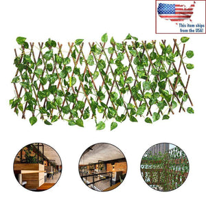 Expandable Faux Ivy Privacy Fence -