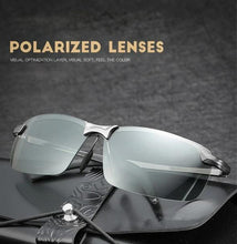 "Load image into Gallery viewer, ""Hazmat"" - Photochromic Sunglasses with Polarized Lenses"