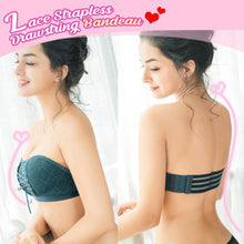 Load image into Gallery viewer, Lace Strapless Bandeau