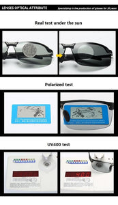 """Hazmat"" - Photochromic Sunglasses with Polarized Lenses"