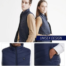 Load image into Gallery viewer, Unisex Winter Heated Vest - (50% Off Christmas Sale)