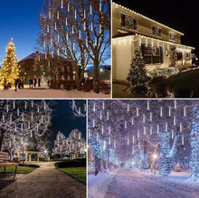 Load image into Gallery viewer, Snow Fall LED Lights