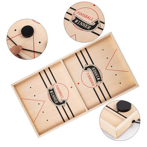 Wooden Sling Hockey Game