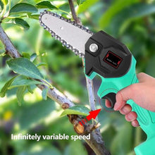 Load image into Gallery viewer, Rechargeable MINI Lithium Chainsaw - 【70% OFF BLACK FRIDAY SALE】