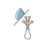 Dry Flower Care Icon
