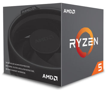 AMD CPU Ryzen 5 2600 Processor with Wraith Stealth