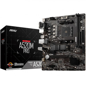 MSI A520M-Pro Motherboard