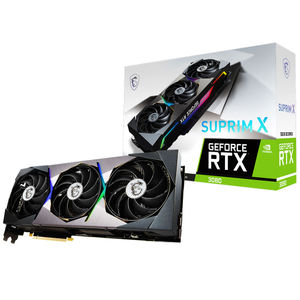 MSI GeForce RTX 3080 Suprim X OC 10GB Graphics Card