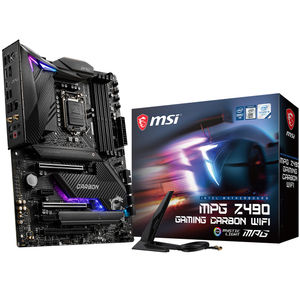 MSI MPG Z490 Gaming Carbon Wi-Fi Motherboard