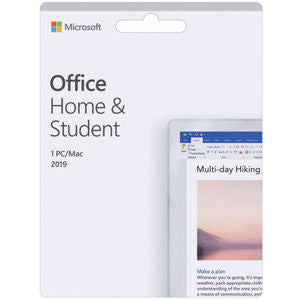 Microsoft Office 2019 Home and Student Medialess Retail Software