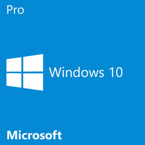 Microsoft Windows 10 Pro Software 64bit OEM DVD