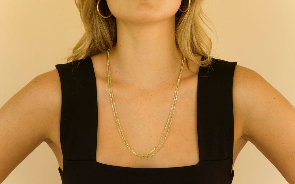 Karady Rope Chain | Yellow Gold