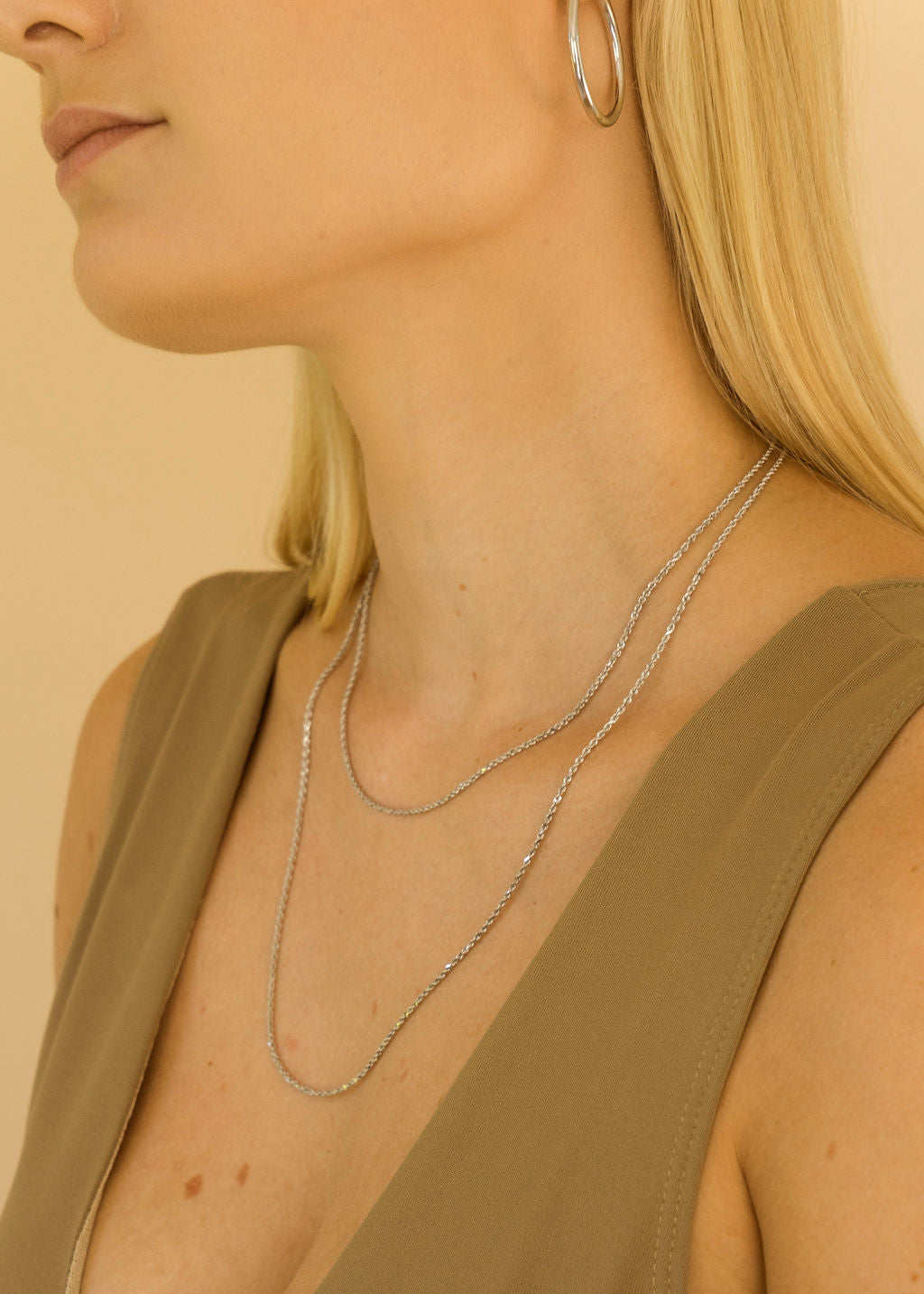 Karady Rope Chain | White Gold