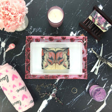 Load image into Gallery viewer, Cherry Almond Artisan Soap Flat lay lifestyle photography
