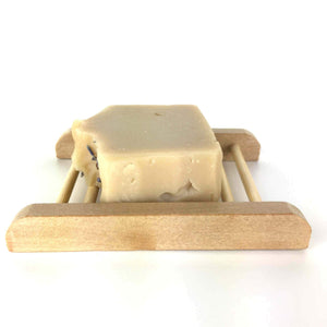 Light brown Ladder Soap Dish with Artisan Soap