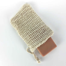Load image into Gallery viewer, Beige Sisal Soap Pouch