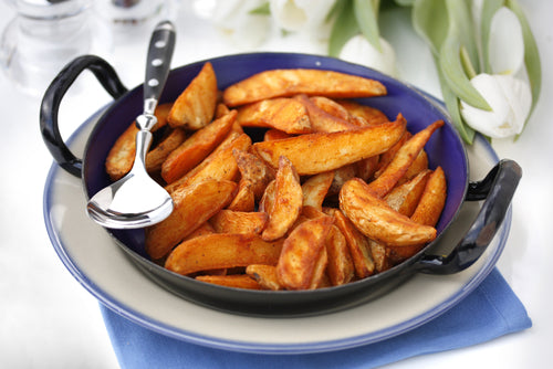 Crispy Oven-Baked Low-Sodium French Fries