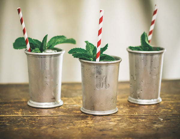 Silver Mint Julep Cups are the perfect thing to sip your mint julep from on Derby Day. But, these cups can do so much more than just be the pretty vessel for a fancy cocktail. Here are 5 ways to use your silver mint julep cups!