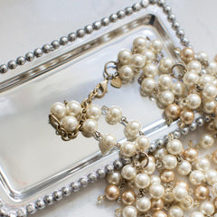 IDEAS FOR STYLING AND USING VANITY AND JEWELRY TRAYS - use to put your jewelry on at night
