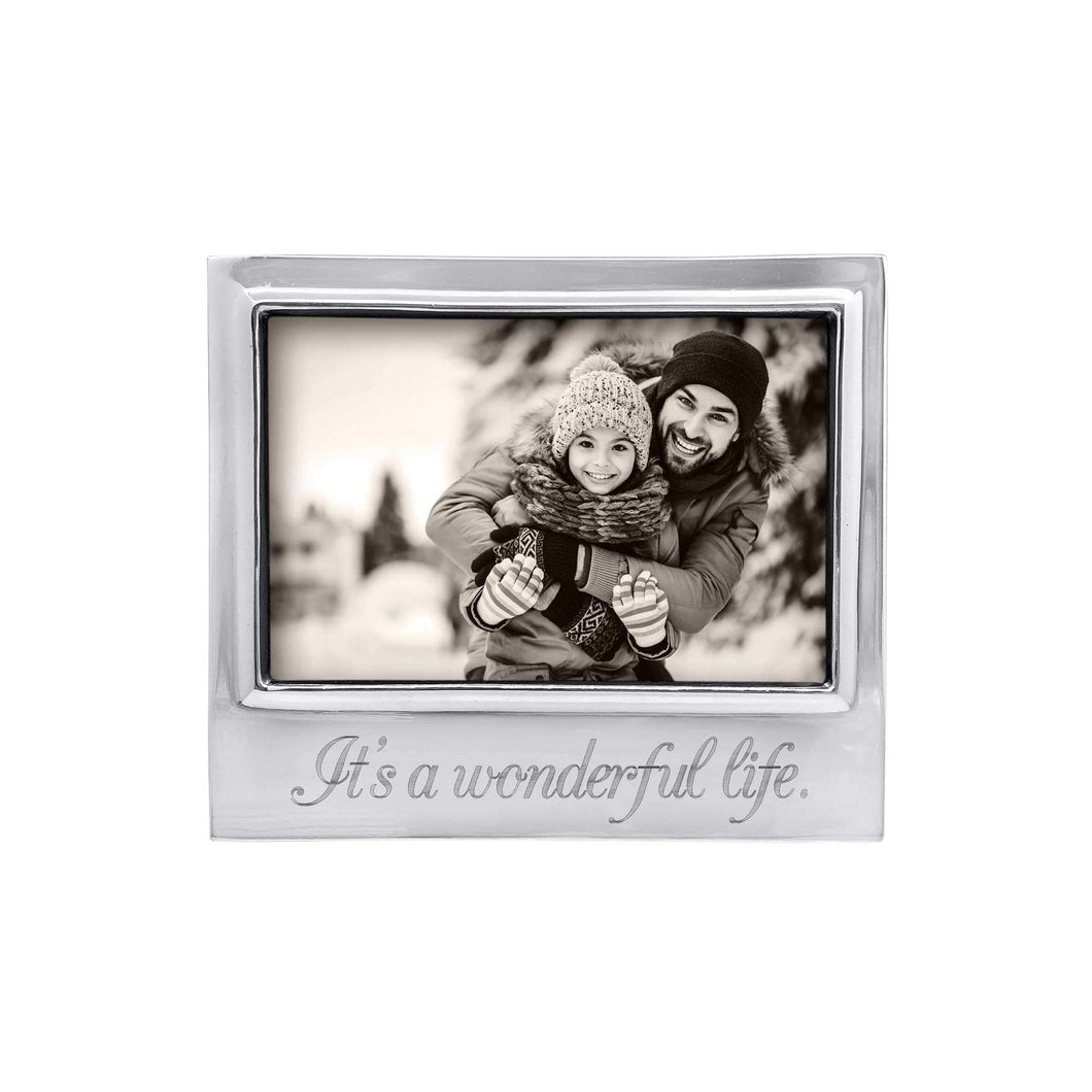 It's a Wonderful Life Silver Picture Frame