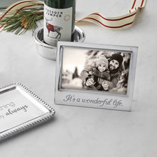 Load image into Gallery viewer, It's a Wonderful Life Silver Picture Frame