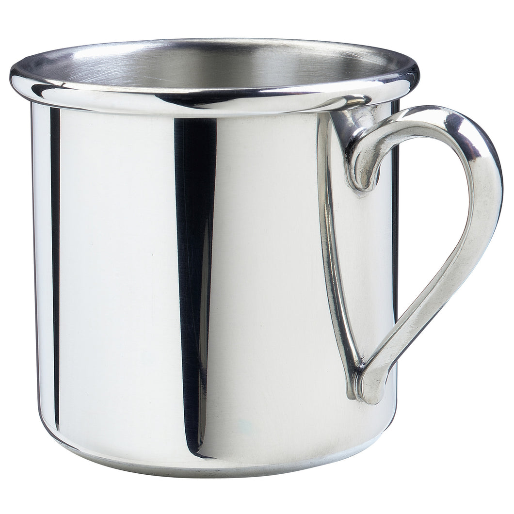 Silver Baby Cup - Straight Edge