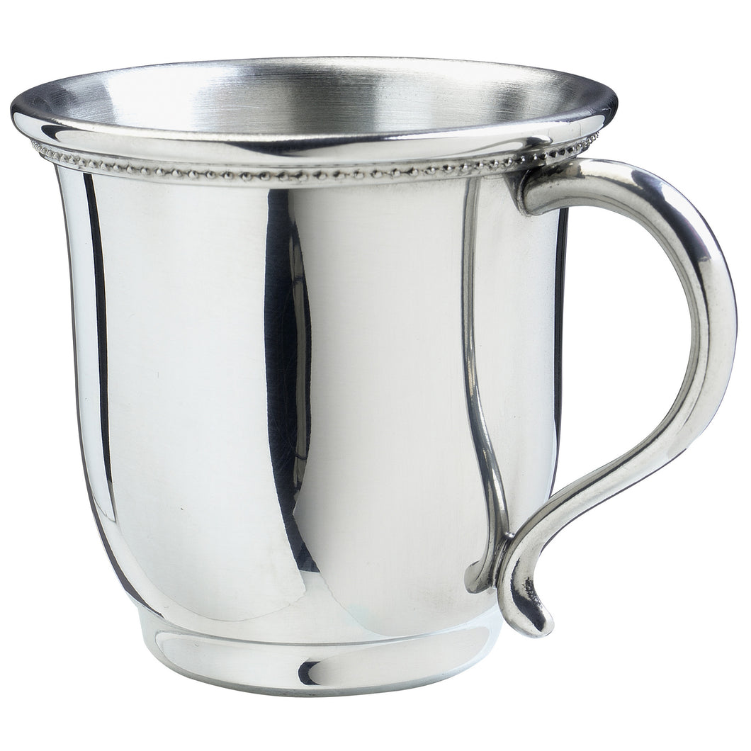 Silver Georgia Baby Cup