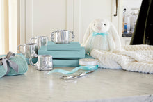 Load image into Gallery viewer, Silver baby cups and bunny bear