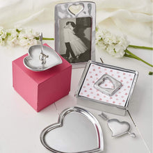 Load image into Gallery viewer, Silver Heart Ring Dish Lifestyle