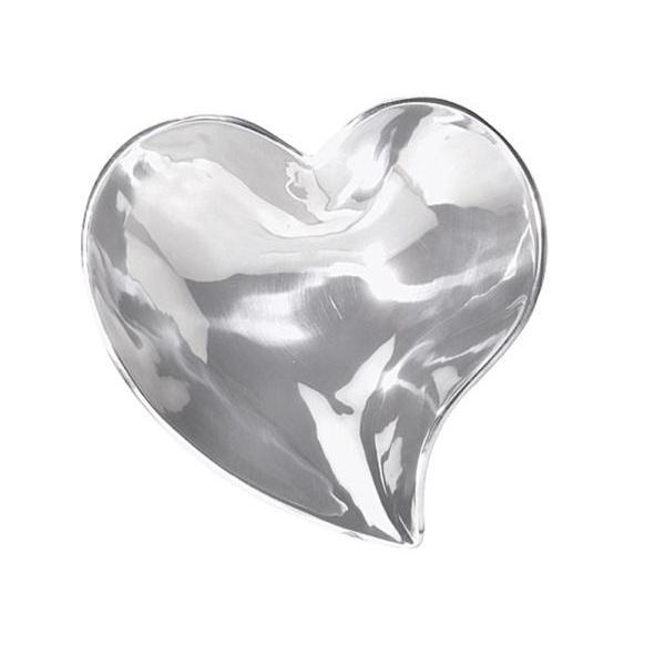 Silver Small Heart Ring Dish