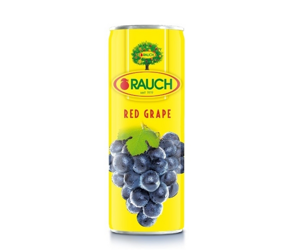 RAUCH Red Grape Juice 355ML راوخ عصير عنب احمر