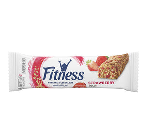 Nestle Fitness Cereal Bars With Whole Grain And Strawberries 23.5g x 24 Pieces