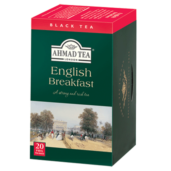 [:en]Ahmad Tea English Breakfast Black Tea 20 Bags[:]