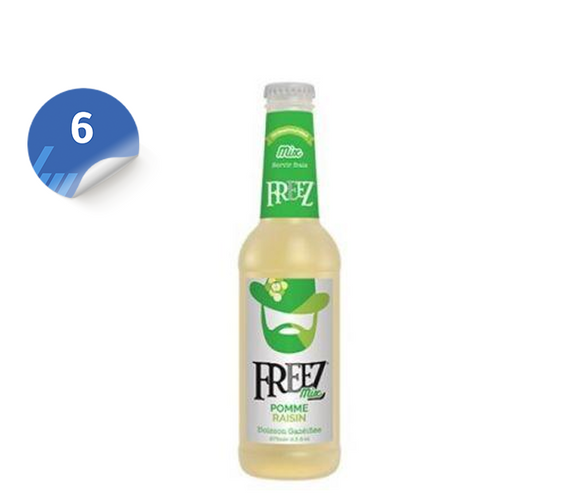 Freez Mix Apple & Grape x6 فريزز التفاح والعنب