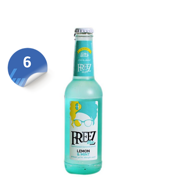 Freez Mix Lemon & Mint x 6 فريزز ليمون نعناع