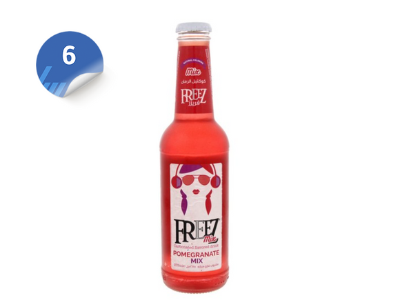 Freez Pomegranate x6  فريز  الرمان